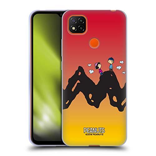 Head Case Designs Oficial Peanuts Charlie y Lucy Personajes Carcasa de Gel de Silicona Compatible con Xiaomi Redmi 9C