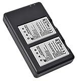 DSTE 2 Piezas de Recambio de bateria EN-EL5 Batterie + USB Cargador Dual Compatible con Nikon Coolpix 3700 Coolpix 4200 Coolpix 5200 Coolpix P500 Coolpix P5000 Coolpix P6000