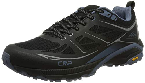 CMP Hapsu Nordic Walking Shoe, Scarpa Professionale Sanitaria Uomo, Nero/Lead, 44 EU