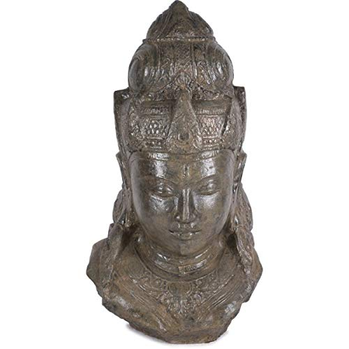 KOH DECO Statue Jardin divinité hindoue 100 cm - Brun