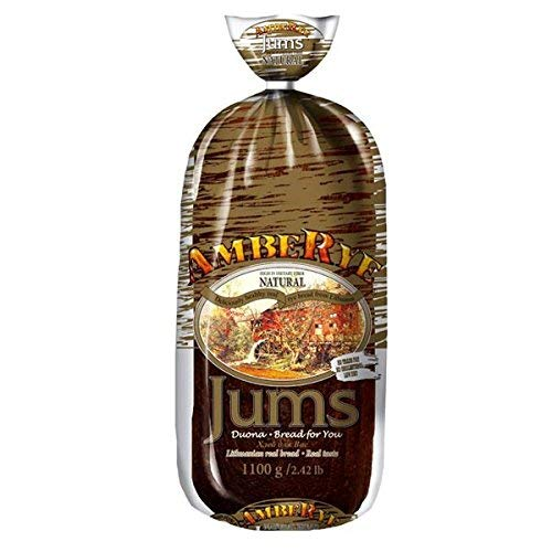 Authentic Imported Lithuanian Jums Rye Bread 1100G Pack Of 2