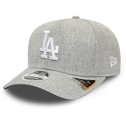 New Era Casquette Heather Base 9Fifty Stretch-Snap ~ LA Dodgers