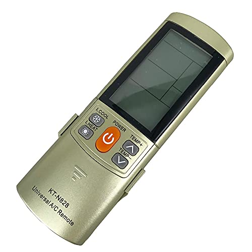 HUYANJUN, Nuovo Telecomando Universale del condizionatore d'Aria KT-N828 2000 in 1 Adatto per LG.