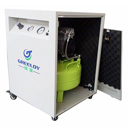 APHRODITE 40L 800W Air Compressor Motor 155L/min for Dental Chair + Dryer + Silent Cabinet