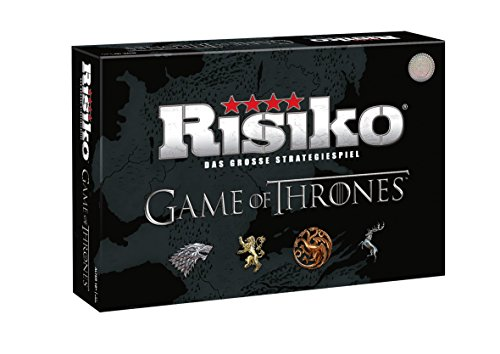 Winning Moves Risiko Game of Thrones Collector's Limitierte große Deluxe Edition GoT Brettspiel - Deutsch