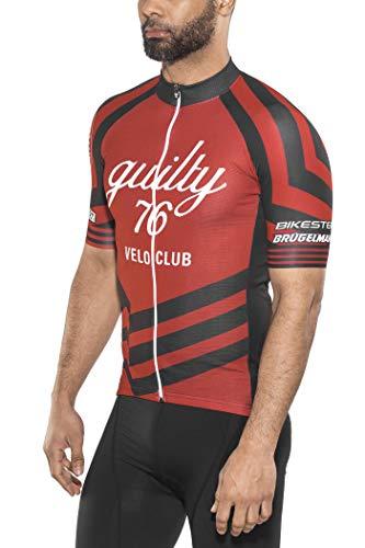 guilty 76 racing Velo Club Pro Race Trikot Herren red Größe S 2020 Radtrikot kurzärmlig