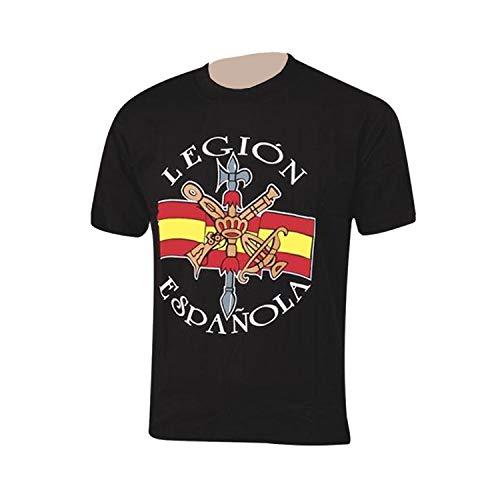 Pielcu Camiseta Legión EspañolaLos legionarios no Mueren, se reagrupan en el Infierno (S)