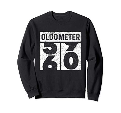 Odómetro Oldometer 60 Cumpleaños Divertido Regalo De 60 Años Sudadera