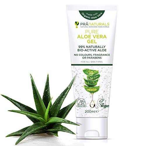 Gel à L'Aloe Vera Bioactif PraNaturals 200ml...