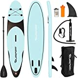 TELESPORT Paddle Boards 11' x 30'x6' Inflatable Stand Up Paddleboard for Adult, Blow Up SUP Board, 350lbs Weight Capacity with Full Accessories
