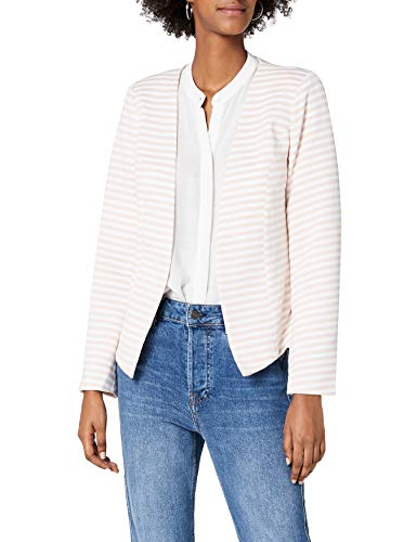 Only onlANNA Short Blazer Noos TLR, Multicolore (Cameo Rose Stripes:Bright White), 38 Donna