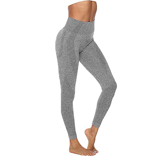 Leggings Sin Costuras De Cintura Alta Push Up Leggings Deportes Mujeres Fitness Correr Pantalones De Yoga Pantalones EláSticos De EnergíA Gym Girls Leggings