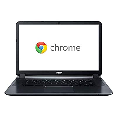 """CER CB3-532 15.6"""" HD Chromebook with 3X Faster WiFi, Intel Dual-Core Celeron N3060 up to 2.48GHz Chrome OS"""
