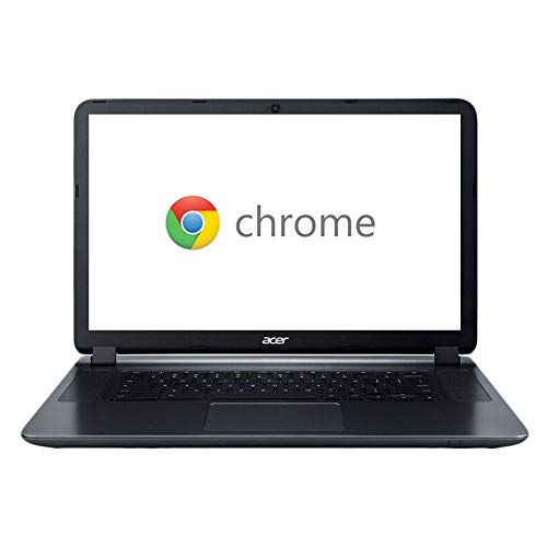 "2018 Acer CB3-532 15.6"" HD Chromebook with 3x Faster WiFi, Intel Dual-Core Celeron N3060 up to 2.48GHz, 2GB RAM, 16GB SSD, HDMI, USB 3.0, Webcam, 12-Hours Battery, Chrome OS"