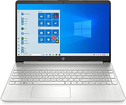 "HP Laptop 15-dy1059ms 15.6"" Full HD Touch Screen Intel Core i5-1035G1 12GB Memory 256GB SSD Windows 10 Silver"