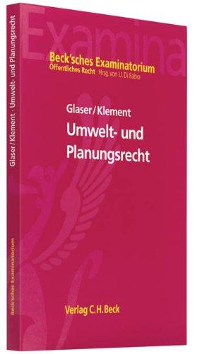 Umweltrecht: mit Planungsrecht