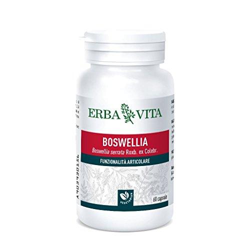 Erba Vita Integratore Alimentare di Boswellia - 60 Capsule
