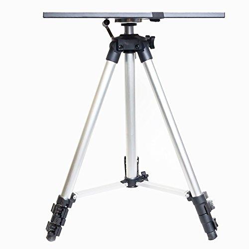 Luxburg® Universal Aluminium Stativ tragbar Stand zum Projektor 50-150 cm