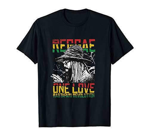 Rasta Man Rastafari Reggae Jamaika Mann Karibik Musik Shirt T-Shirt
