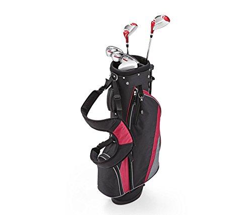 Tchibo TCM Herren Damen Golfset Golf Set Rechtshand Schläger Standbag Mehrfarbig (Damen Golfset)