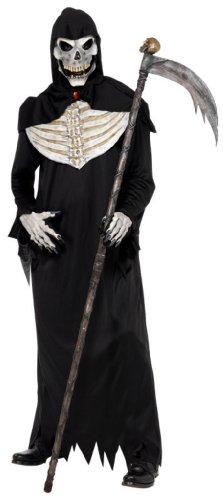 Smiffy's - Disfraz de segador para adulto ideal para Halloween