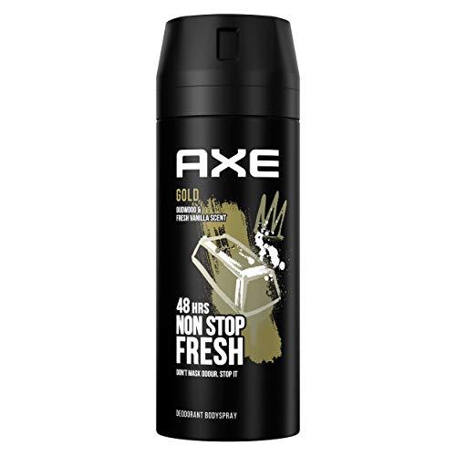 Axe Gold Rock Desodorante, 150 ml
