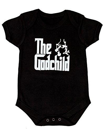 CBObaby Godchild Baby Bodysuit (Godchild Baby Bodysuit 6-12) [Apparel] Black