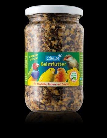 Claus Keimfutter für Kanarien, Exoten und Finken 370ml