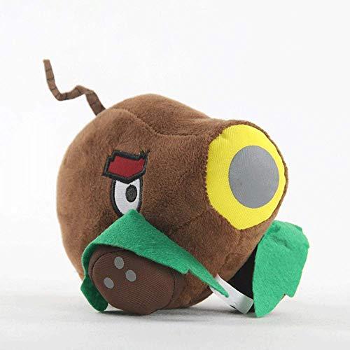 zxddzl Coconut Cannon Plush toy Anime Figures Pillow Cushion PVZ Soft Doll Birthday Children's