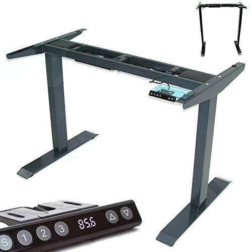 D+L Stelaż stołowy z elektryczną regulacją wysokości biurko 57000 stelaż stół roboczy AWZ