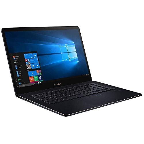ASUS ZenBook Pro 15 UX550GE (90NB0HW3-M01400) 39,6 cm (15,6 Zoll, FHD, WV, matt) Ultrabook (Intel Core i7-8750H, 16GB RAM, 512GB SSD, NVIDIA GeForce GTX 1050 Ti (4GB), Windows 10) Deep Dive Blue