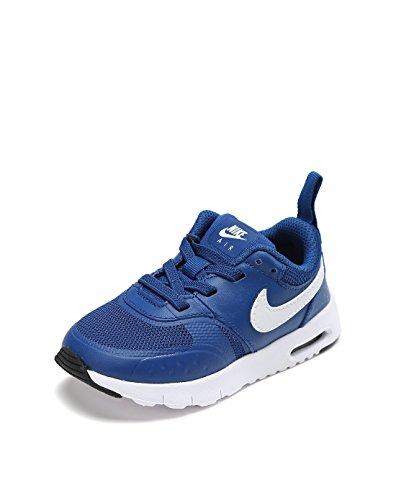 Nike AIR Max Vision (PS), Chaussures de Trail Garçon Fille, Bleu/Blanc/Noir (Gym Blue White Black 402), 30 EU