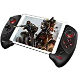 ipega-PG-9083S Mobile Gamepad Wireless 4.0 Controller Gamepad Joystick with 5-10 Inch Telescopic Holder Compatible IPhone8/XR/XS iOS Compatible Android Mobile Phone Tablet