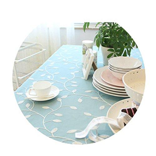 ZWL Tissu de table brodé Tissu de coton Tissu à café Tissu Style de pays Jane Europe Housse de serviette Manteau , Ajoutez de la vitalité à la cuisine ( Couleur : #1 , taille : 90*130CM )