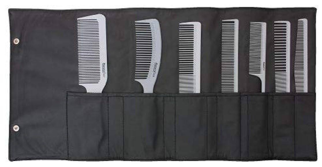 エージェント昇進記念Soft Gray Stylist Professional Comb Set [並行輸入品]