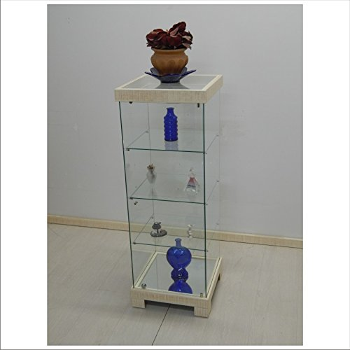 VM ART DESIGN GLASS Vitrine Ethnic Style VME107T (Ivoire)