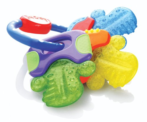 Nuby Ice Gel Teether Keys -$3.88(35% Off)