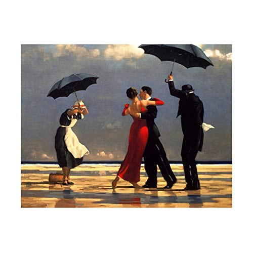 Tanzen Edward Hopper Ölgemälde Wandkunst Poster und Drucke auf Leinwand Kunstwerk Bild für Wohnzimmer -60x90cm ohne Rahmen