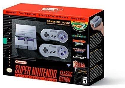 Super Nintendo Entertainment System Classic Mini Edition SNES Console (Region Free US English Version) [nintendo_super_NES]