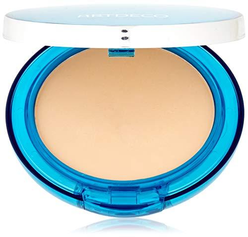 ARTDECO Sun Protection Powder Foundation SPF 50, Puder Makeup mit Sonnenschutz, Nr. 90, light sand