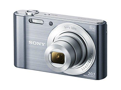 Sony DSC-W810M - 20.1 MP Digital Camera with 6x Optical Zoom - Silver (Renewed)