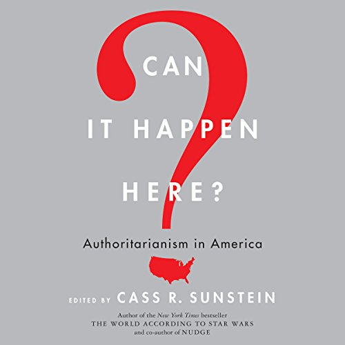 Can It Happen Here? audiobook cover art