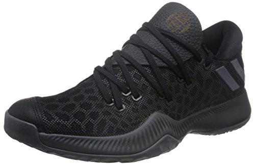 adidas adidas Unisex-Erwachsene Harden B/E Basketball Turnschuhe, schwarz (Negbas/Gricin/Ftwbla), 46 EU