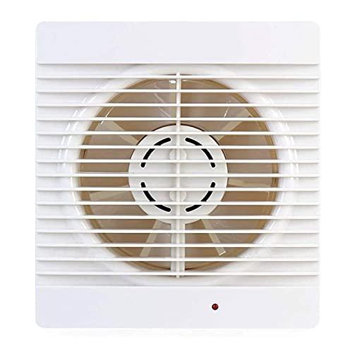 YFGQBCP Ventilador silencioso de la ventilación silenciosa del ventilador silencioso del ventilador del ventilador silencioso del ventilador del ventilador del agujero redondo del agujero del escape d