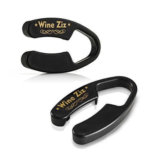 Wine Ziz Durable Blade Foil Cutter for Wine Bottles | 2 Pack | Quickly and Effortlessly Removes Foil - Excellent Gift Idea Wine Accessory - Capsule Seal Tape Cap Label Paper Tin wrapper Opener Tool