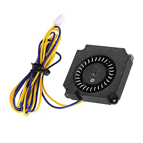 #N/A 40 40 10mm Hotend Extruder 4010 Brushless Blower Cooling Fan Turbo Fan 24V with 2-Pin Connector for CR-8S Ender 3 47.2' Wire Length