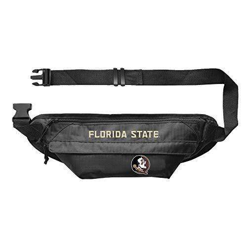 Littlearth NCAA Unisex-Erwachsene NCAA Große Bauchtasche – Hüfttasche, Unisex-Erwachsene, Little Earth NCAA Large Fanny Pack Florida State University, Teamfarbe, 14