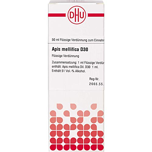 DHU Apis mellifica D30 Dilution, 50 ml Lösung
