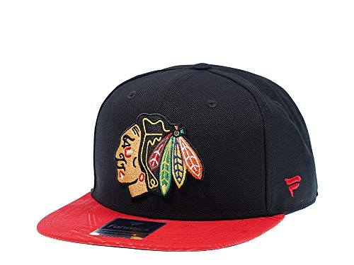 Fanatics Chicago Blackhawks Iconic Snapback Cap - NHL Kappe