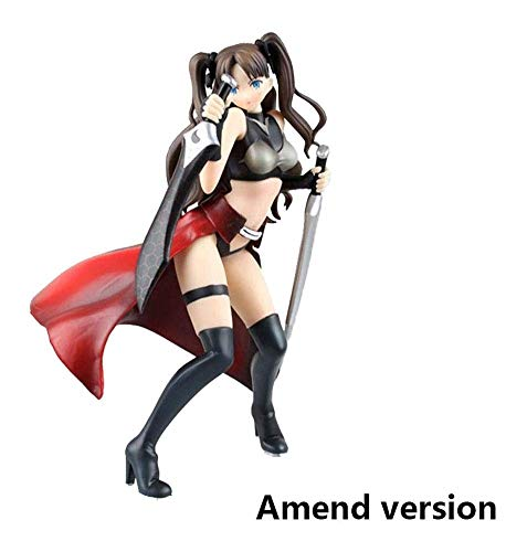 BAYUESHOP Game Character Model Anime Sculpture Fate/Stay Night Unlimited Blade Works Rin Tohsaka Archer Costume Version PVC Figure -High 9.45 Inche Anime Model